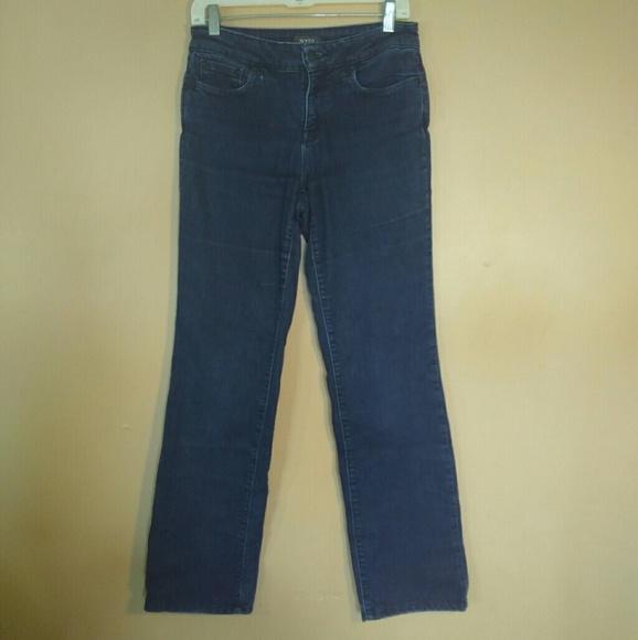 NYDJ Denim - NYDJ 4 Marilyn Straight Lift Tuck Blue Jeans